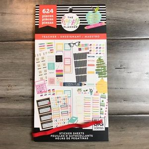 The Happy Planner Sticker Book - Teacher